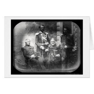 米国の軍法委員会のクリミアの銀板写真1855年 カード