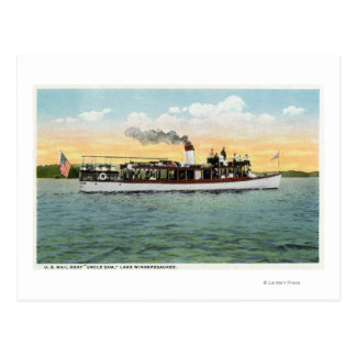 米国の郵便船の米国市民の眺め ポストカード