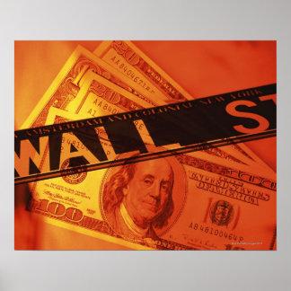 米国の銀行券、CGの構成 ポスター