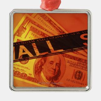 米国の銀行券、CGの構成 メタルオーナメント