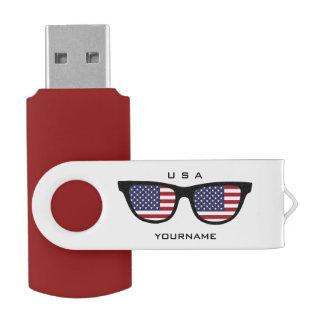 米国の陰のカスタムUSBドライブ USBフラッシュドライブ