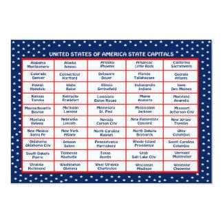 米国の首都カード カード