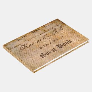 米国の1776年の結婚式独立宣言 ゲストブック
