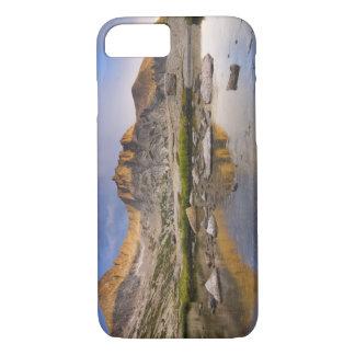 米国の、のコロラド州のロッキー山脈NPの。  雨雲 iPhone 8/7ケース