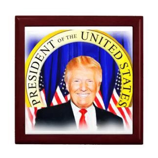 米国の_の大統領切札のためのドナルド ギフトボックス
