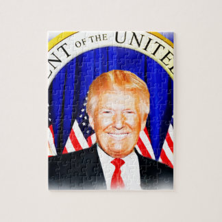 米国の_の大統領切札のためのドナルド ジグソーパズル