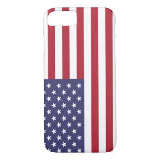 米国のiPhone 7の例の旗 iPhone 8/7ケース