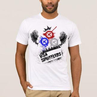 米国のShufflers Tシャツ