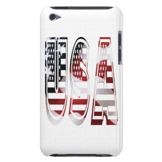 米国はアメリカのロゴに印を付けます Case-Mate iPod TOUCH ケース
