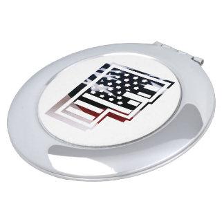 米国はアメリカ人の最初のモノグラムFに印を付けます