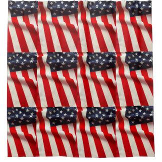 米国はクローズアップに印を付けます シャワーカーテン
