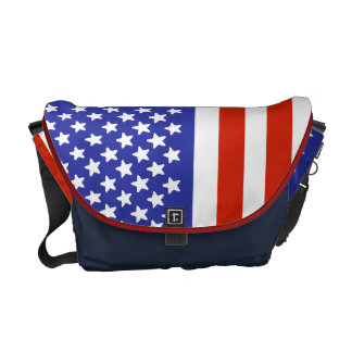 米国はメッセンジャーバッグに印を付けます クーリエバッグ
