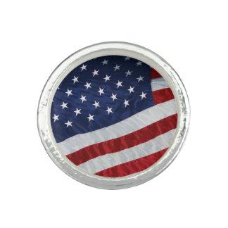 米国はリングに印を付けます リング