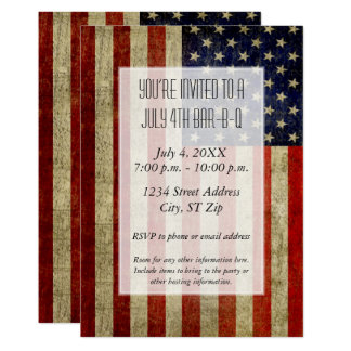 米国はヴィンテージの一見のパーティーと印を付けます カード