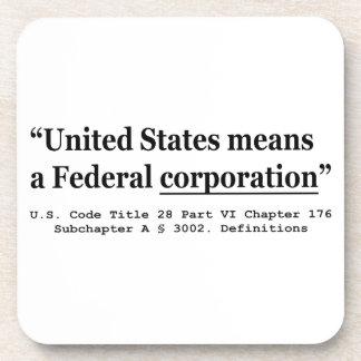 米国は中央政府株式会社を意味します コースター