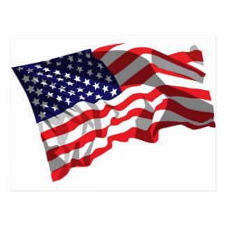 米国は印を付けます ポストカード