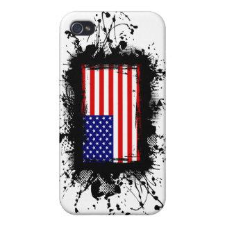 米国は印を付けます iPhone 4 COVER