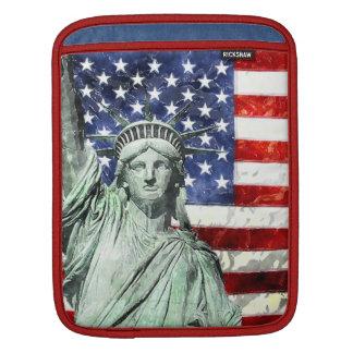 米国は及び自由印を付けます iPadスリーブ