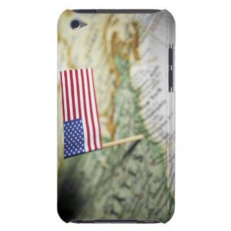 米国は地図で印を付けます Case-Mate iPod TOUCH ケース
