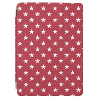 米国は旗の赤の白い星に印を付けます iPad AIR カバー