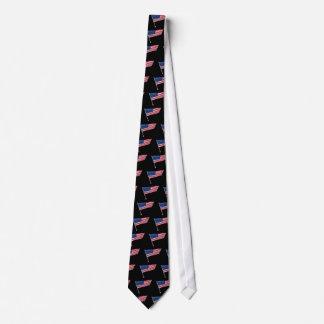 米国は棒で印を付けます ネクタイ