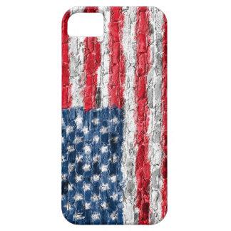 米国は煉瓦電話箱で印を付けます iPhone SE/5/5s ケース