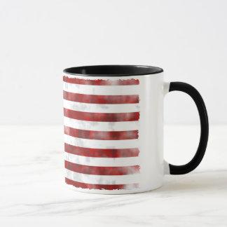 米国は素晴らしいパターン旗衰退しました マグカップ