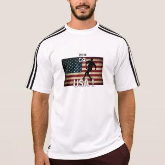 米国は行きます! Tシャツ