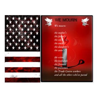 米国は記念する記念の郵便はがきに印を付けます ポストカード