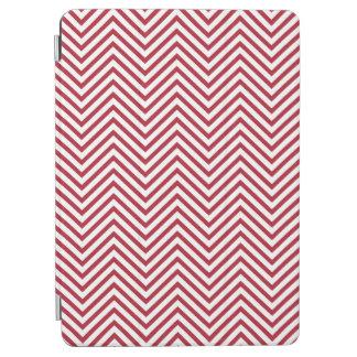 米国は赤いに印を付けます及び白い波状のジグザグ形シェブロンは縞で飾ります iPad AIR カバー