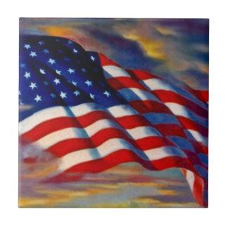 米国は雲の軍のギフトのタイルの古い栄光に印を付けます タイル