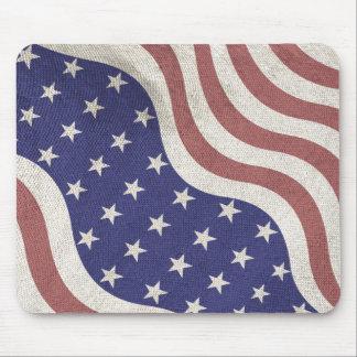 米国は風化する素朴に印を付けます マウスパッド