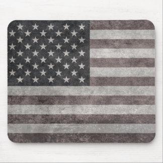 米国は、キャンバスのtextueとのヴィンテージのレトロのスタイル印を付けます マウスパッド