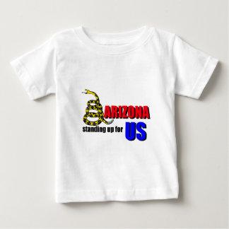 米国を擁護するアリゾナ ベビーTシャツ
