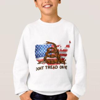米国ガズデンの旗 スウェットシャツ