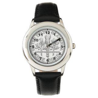"""""""米国ダイム""""のデザインの腕時計 腕時計"""