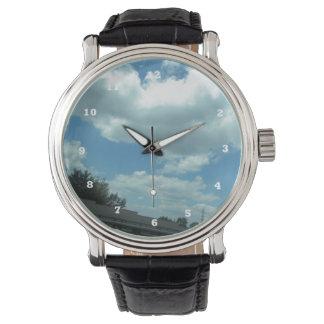 米国ニュージャージーフィラデルヒィアCherryHillのskyviewのおもしろい 腕時計