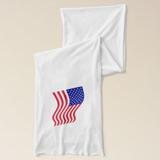 米国ノースカロライナの旗のコンボのスカーフ スカーフ