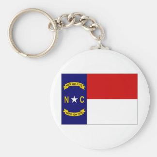 米国ノースカロライナの旗 キーホルダー