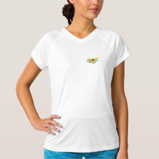 米国バージン諸島の旗 Tシャツ