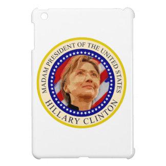 米国ヒラリー・クリントンの夫人大統領 iPad MINI CASE