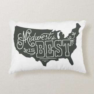 米国中西部は最高に枕です アクセントクッション