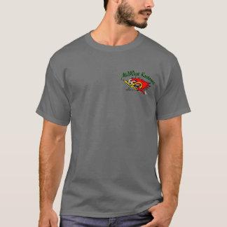 米国中西部Kustomzの木質のティー Tシャツ