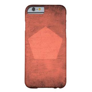 米国国防総省-電話箱が付いている珊瑚の汚れ BARELY THERE iPhone 6 ケース