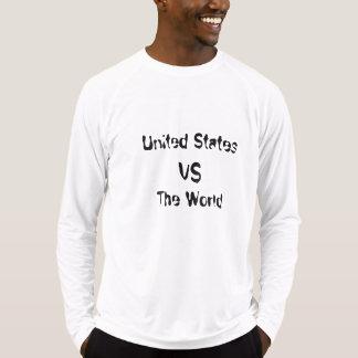 米国対世界 Tシャツ