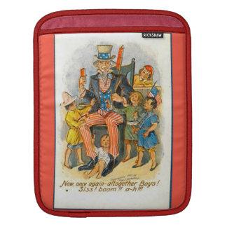 米国市民および子供! iPadスリーブ