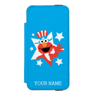 米国市民としてElmoは|あなたの名前を加えます Incipio Watson™ iPhone 5 財布 ケース