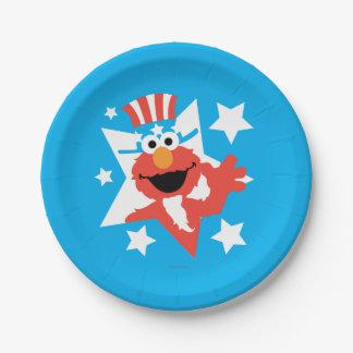 米国市民としてElmo ペーパープレート