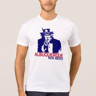 米国市民アルバカーキニューメキシコのティー Tシャツ
