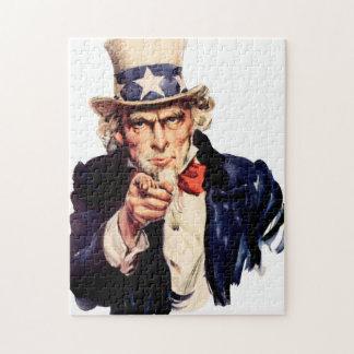 米国市民パズル ジグソーパズル